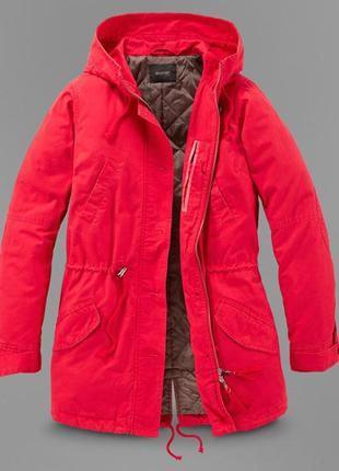 Красивая и практичная куртка-парка tchibo, германия - р. 50-52 укр.2