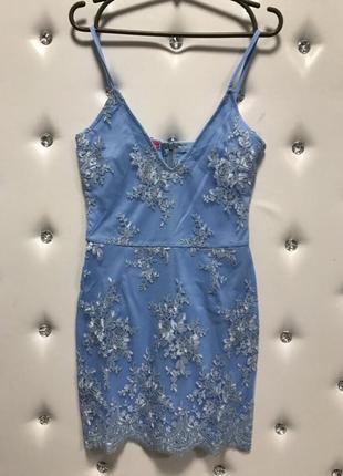 Платье с кружевом ажур на новый год вечернее1