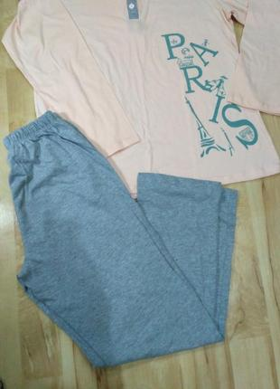 Пижама, 100% хлопок, размер l1 фото