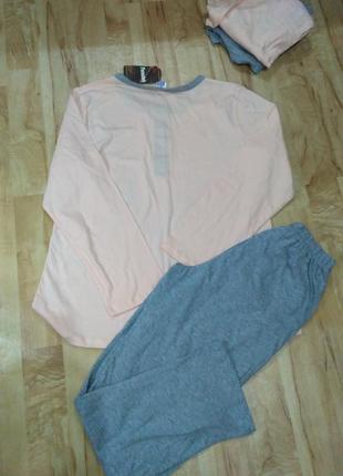 Пижама, 100% хлопок, размер l4 фото