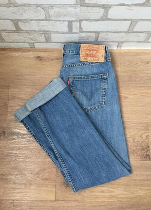 Мом джинсы levi's 501, винтажные плотные джинсы с высокой талией3