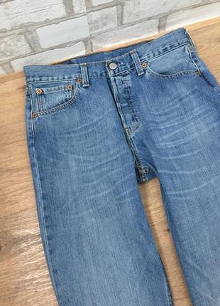 Мом джинсы levi's 501, винтажные плотные джинсы с высокой талией4