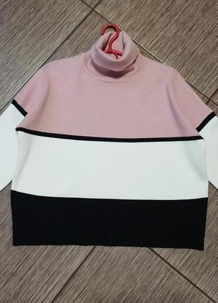 Стильный, качественный свитер, джемпер с горлом new look4