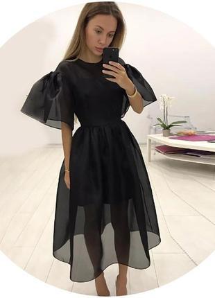 Крутое платье миди1