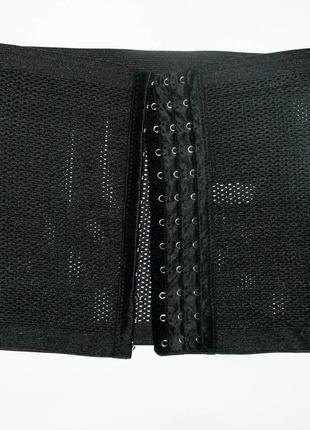 Утягивающий черный корсет, грация, пояс, утяжка  s, m,l1
