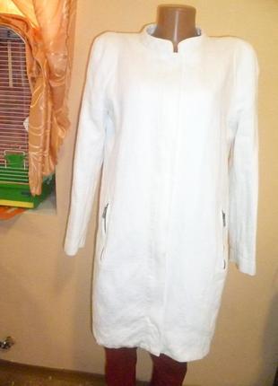 Пальто шерсть+коттон mango suit1
