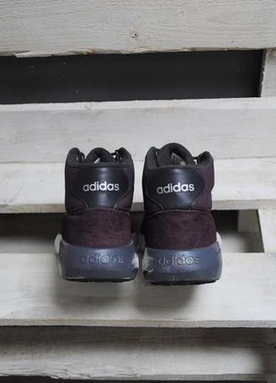 Зимние кроссовки adidas cloudfoam race2 фото