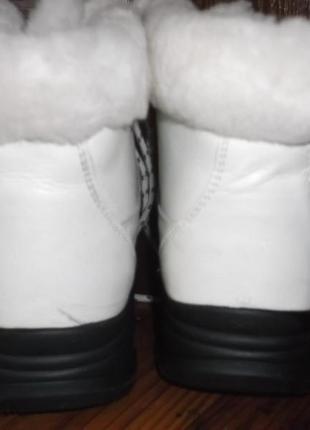 Ботинки,кроссовки зимние кожаные supo2