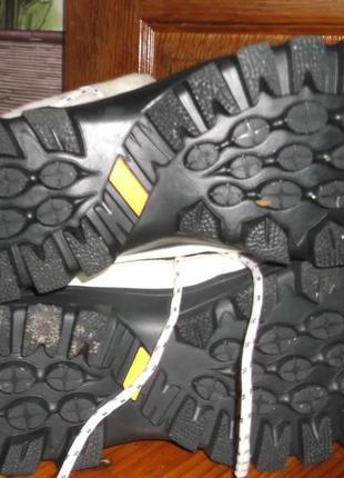 Ботинки,кроссовки зимние кожаные supo3