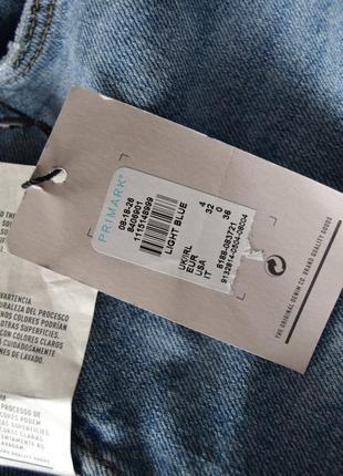 Новые мом-джинс с потертостями и вставками из сетки denim co4 фото