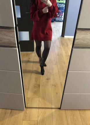 Тёплое платье2
