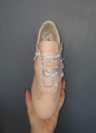 Кожанные кеды, кроссовки3