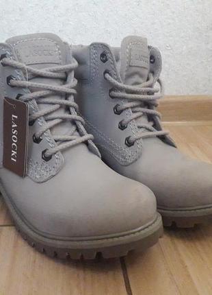 Ботинки женские lasocki1