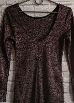Платье с открытой спинкой h&m размер 104