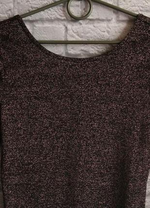 Платье с открытой спинкой h&m размер 102