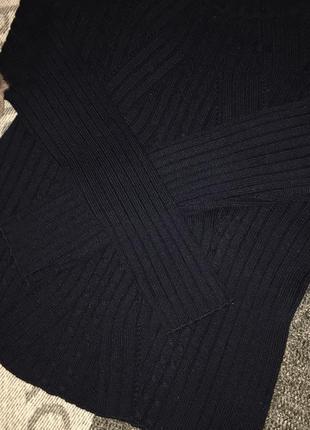 Свитер крутой гольф красивый свитер тёплый свитер р xs s3