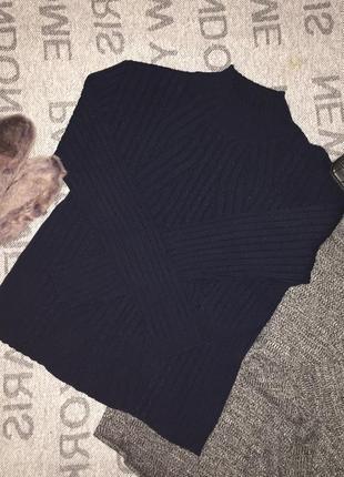 Свитер крутой гольф красивый свитер тёплый свитер р xs s2 фото