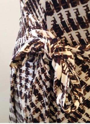 Vip бренд - diane von furstenberg - легендарное платье халат с запахом - оригинал шелк4