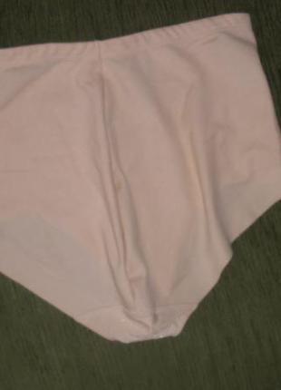 Высокие хлопковые плотные трусики утяжка marks & spencer /англ 162