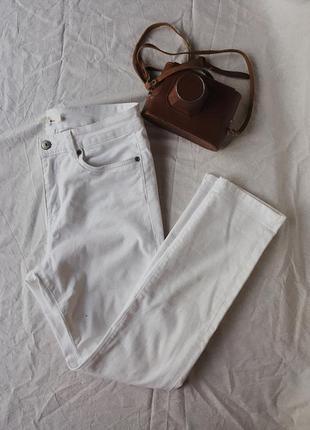 Белые джинсы2