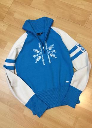 Роскошный спортивный свитер из шерсти мериноса campagnolo оригинал1