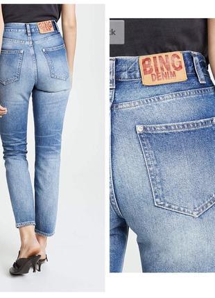🔥 крутейшие мом джинсы с высокой талией1 фото