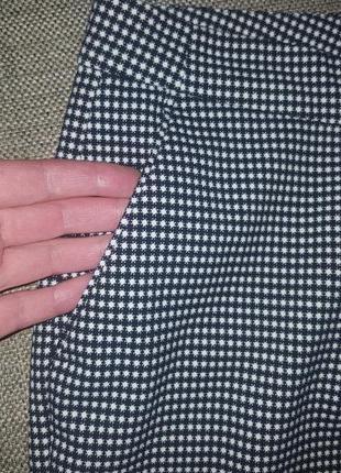 Классические  теплые зауженные брюки штаны р. 12 l3