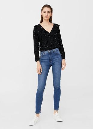 Шикарные джинсы с высокой посадкой от mango, 36, 38, 40р, испания4