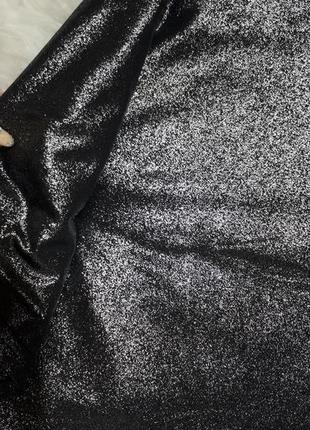 Юбка с серебряным напылением3