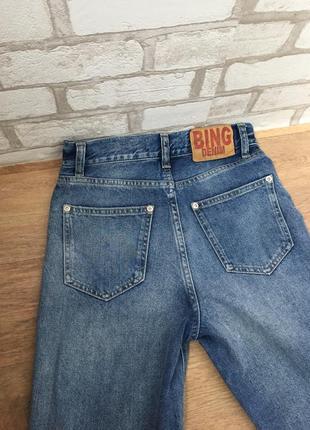 🔥 крутейшие мом джинсы с высокой талией5 фото