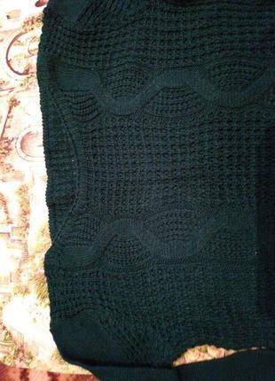 Зелёный свитерок2