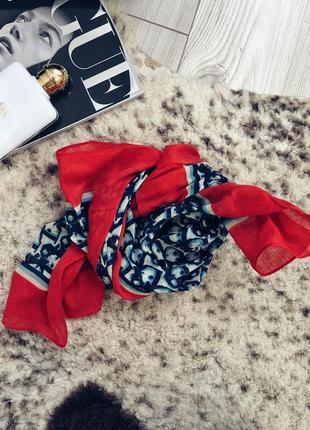 Хлопковая шаль , платок dior оригинал2