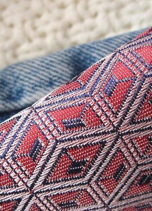 Жаккардовые брюки-дудочки с завышенной талией topshop2