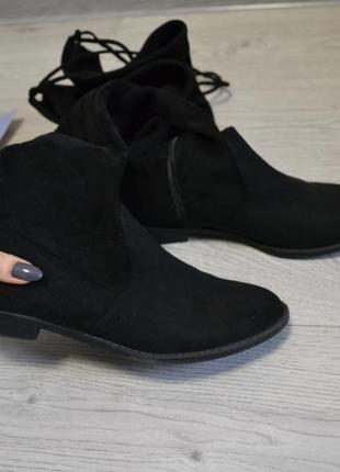 Стильные ботфорты сапоги ботинки2