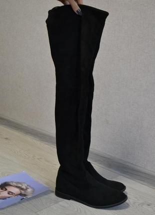 Стильные ботфорты сапоги ботинки3