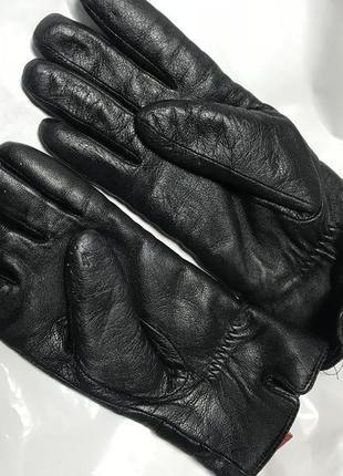 Кожаные перчатки1 фото