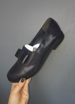 Кожанные туфли , балетки, слипоны1