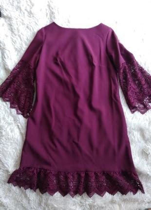 Платье вечернее, платье марсала, сукня , плаття бордове вечірнє1