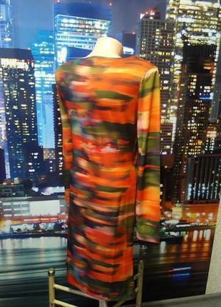 Красивое яркое платье размер с, небольшая м3