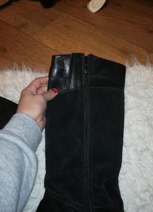 Сапоги женские кожаные сапоги зимние сапоги3