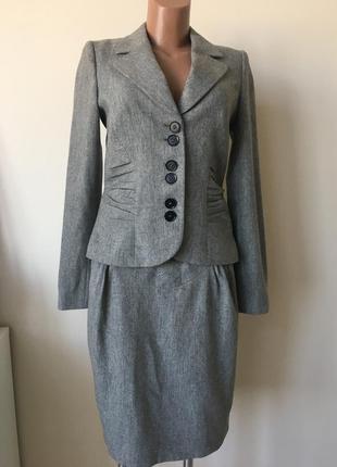 Женственный костюм  шерсть bgn
