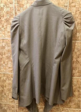 Шикарный фирменный кардиган накидка р.м/12,в идеале.2 фото