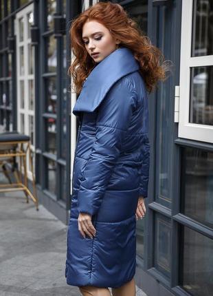 Пальто обьемное оверсайз одеяло теплое зимнее в стиле zara1