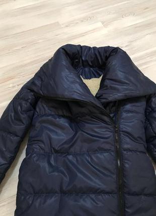 Пальто обьемное оверсайз одеяло теплое зимнее в стиле zara4