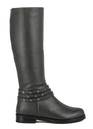 990цп женские сапоги scorpion,кожаные,на толстом каблуке,на каблуке,на низком ходу2