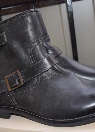 Утепленные кожаные ботинки pier one р.42 27-27,3 см германия новые1