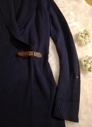Платье тёплое синего цвета tommy hilfiger шерстяное4