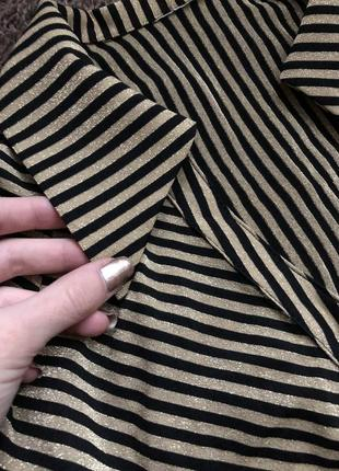 Блуза блестящая с люрексовой нитью2