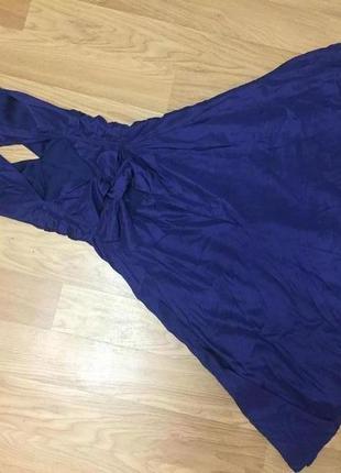 Элегантное шелковое платье от warehouse в стиле мерлин монро/ 100% шелк4