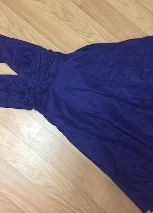 Элегантное шелковое платье от warehouse в стиле мерлин монро/ 100% шелк3